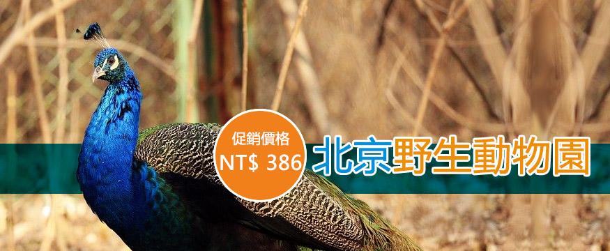 北京野生動物園NT$285